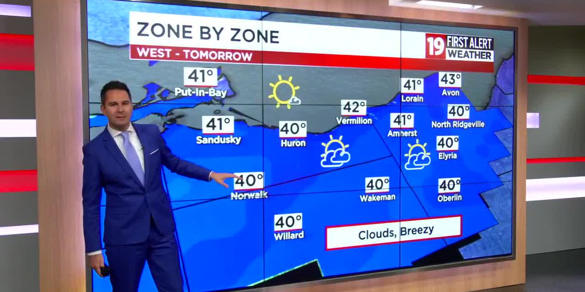 Northeast Ohio weather: Snow showers return for the weekend
