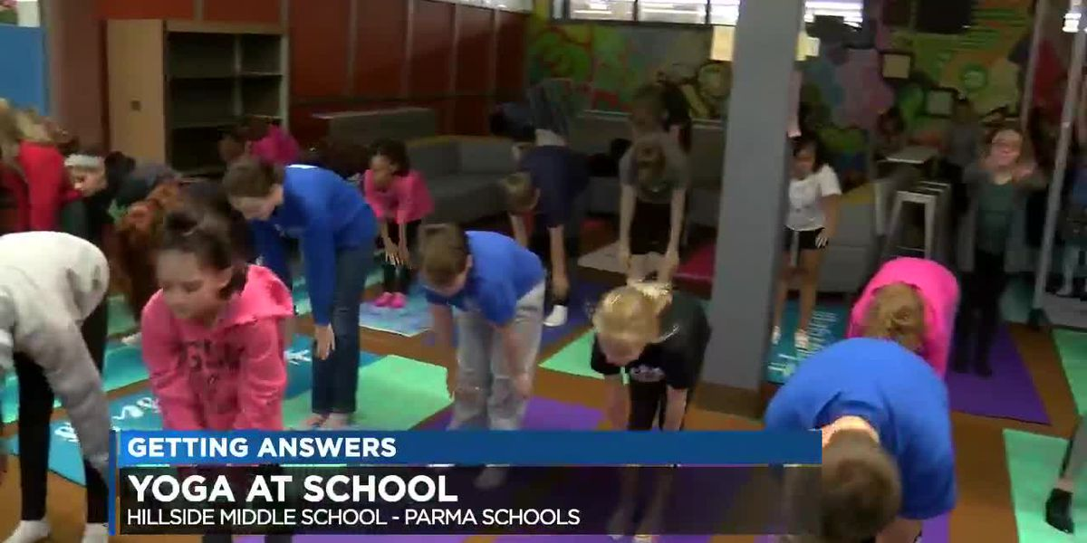 Students Learn to 'Breath and Believe' in School Yoga Class