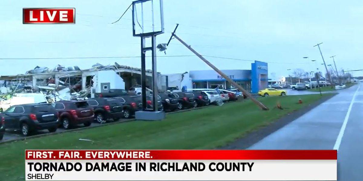 EF-2 tornado tore through Shelby Sunday, according to officials