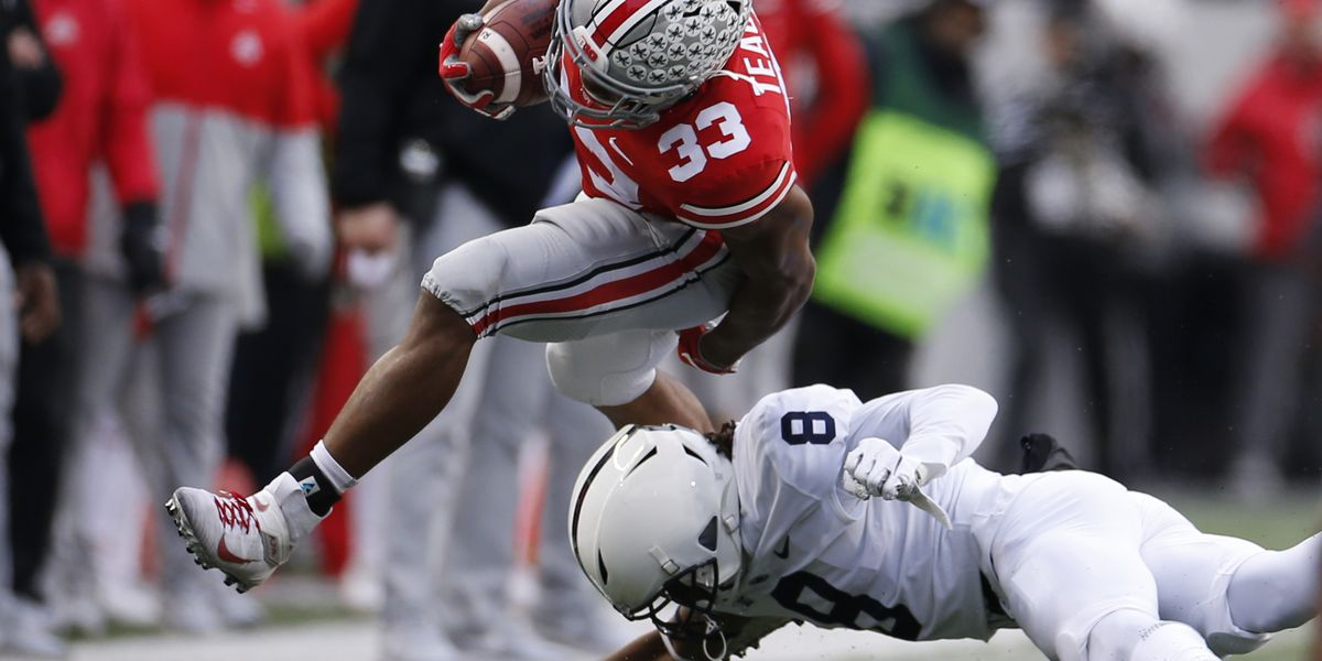 No. 2 Ohio State tested but tops No. 9 Penn State 28-17