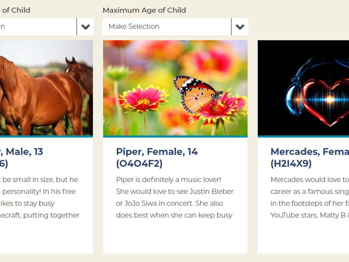 Online profiles highlighting Ohio children awaiting adoption are now available to view