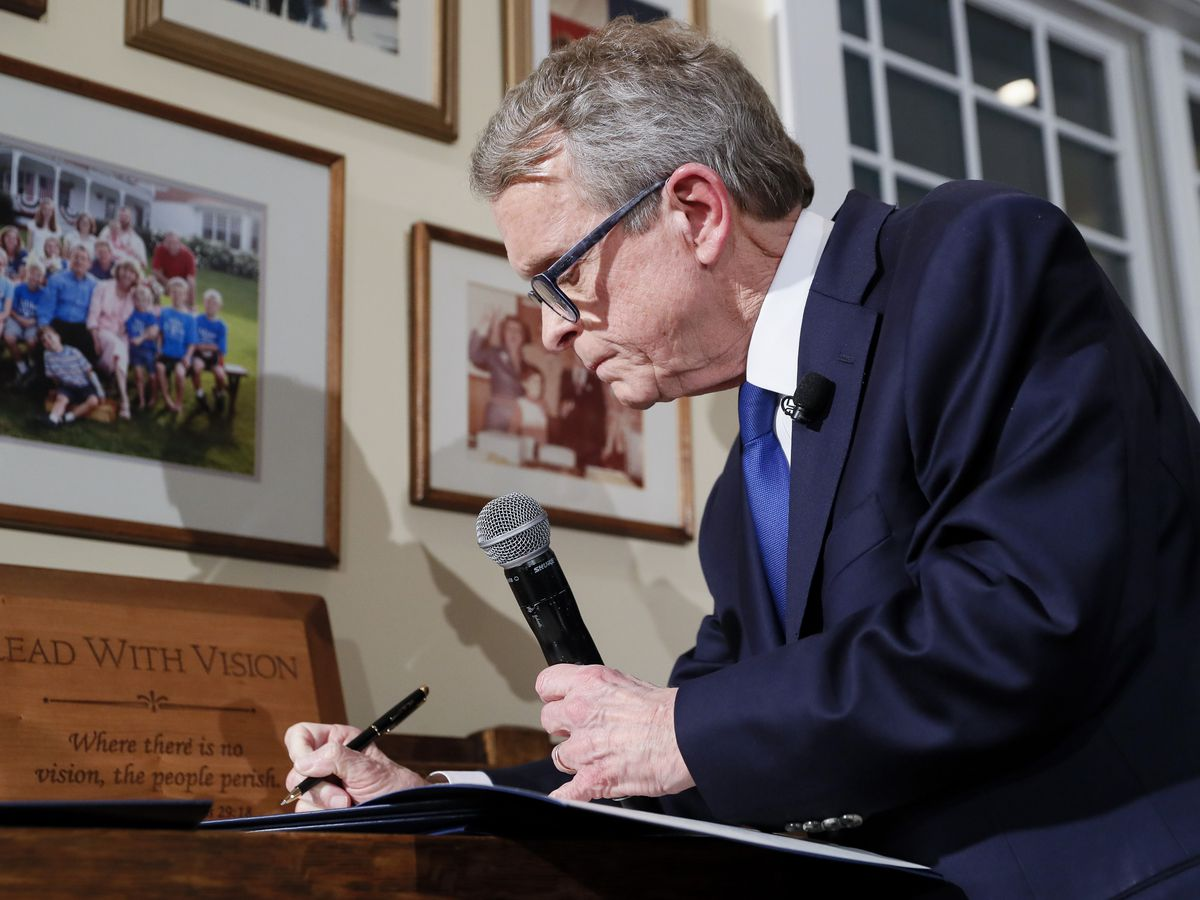 Executive orders from new Gov. Mike DeWine broken down