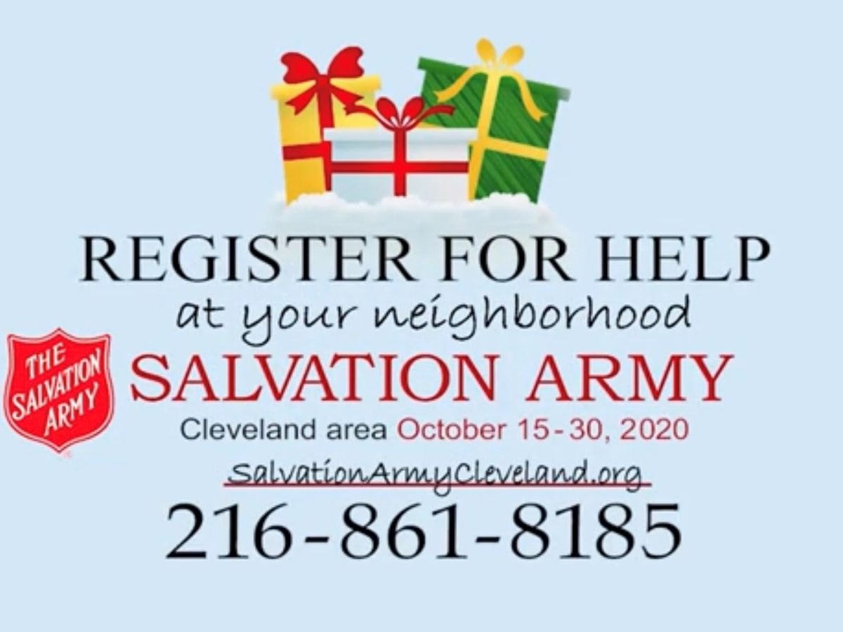 Christmas Assistance Registration with Salvation Army