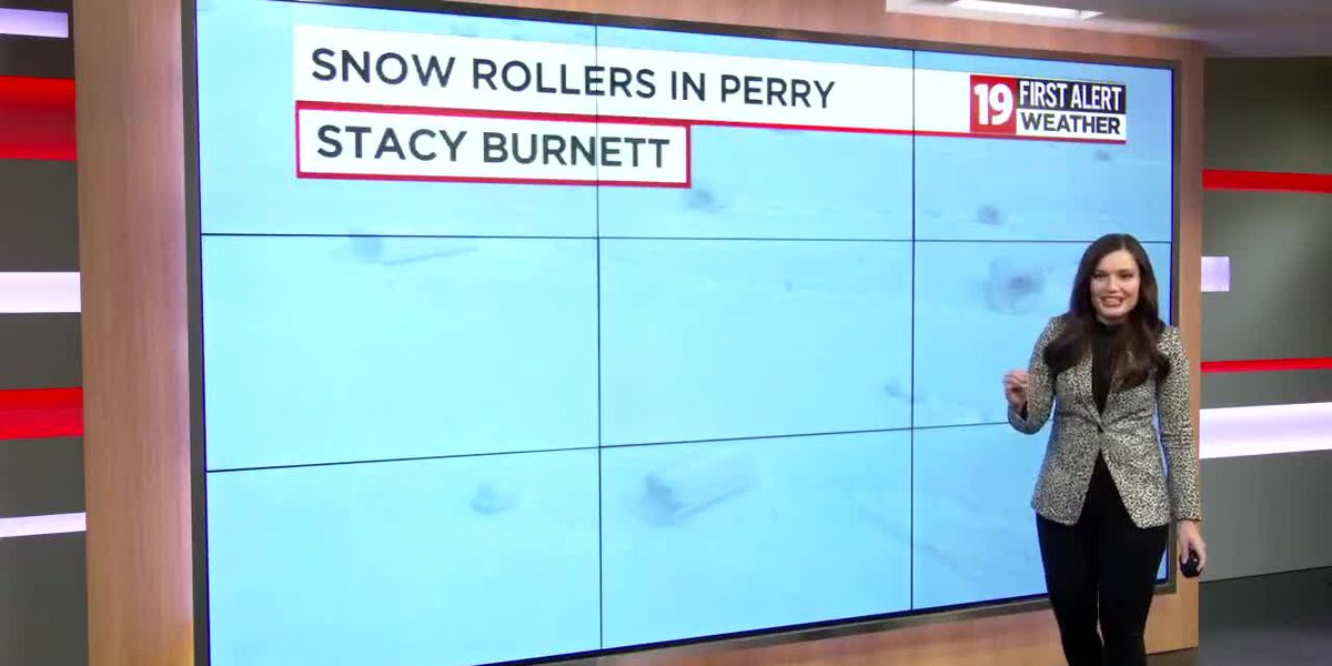 19 First Alert Science School: How do snow rollers form?
