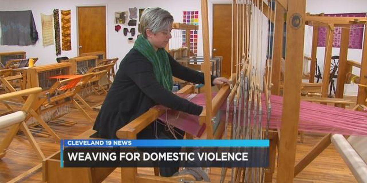 Free weaving workshop for domestic violence survivors
