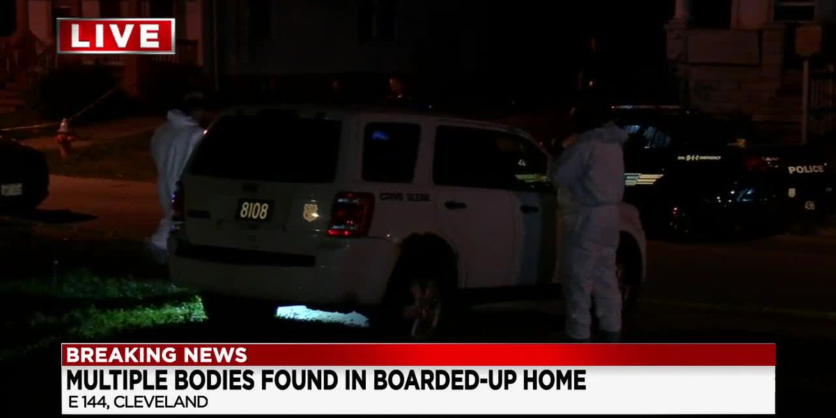 4 bodies found in boarded-up house on Cleveland's East Side