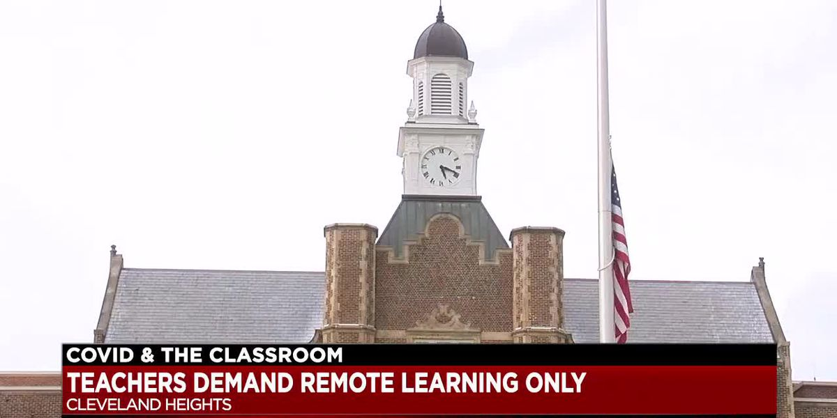 Cleveland Heights teachers demand remote learning
