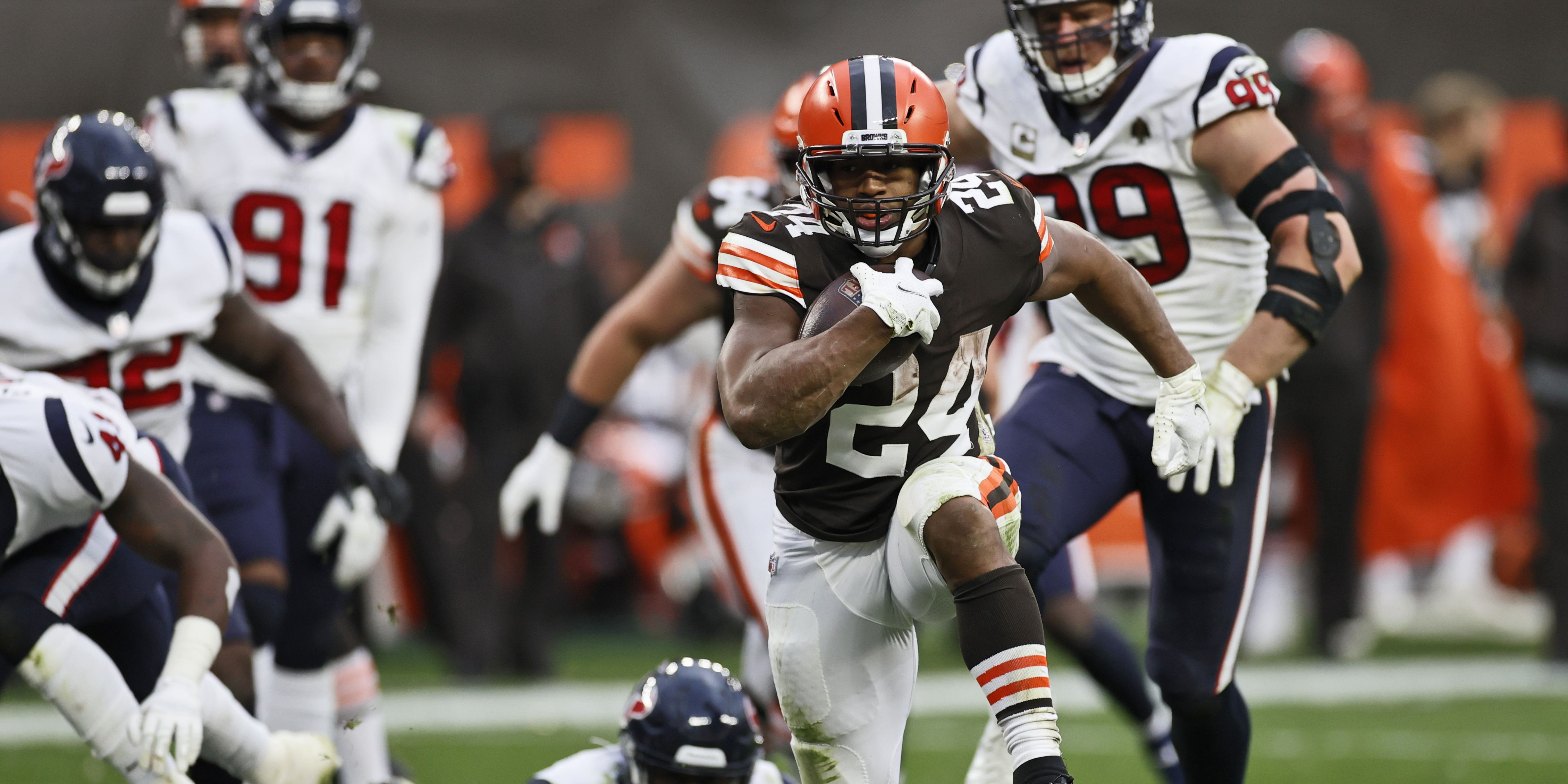 Cleveland Browns turn back Houston Texans 10-7