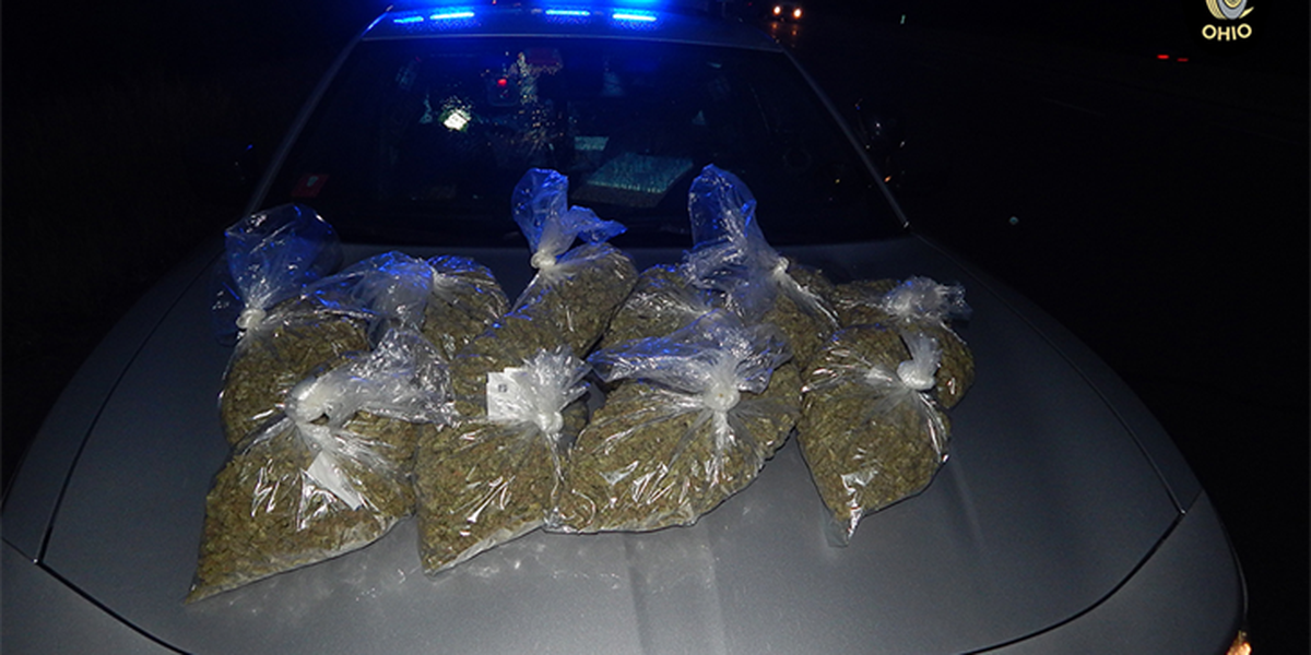 Troopers confiscate duffel bag full of pot, worth more than $65k