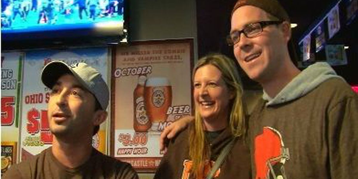Cleveland's morale skyrockets with Browns win