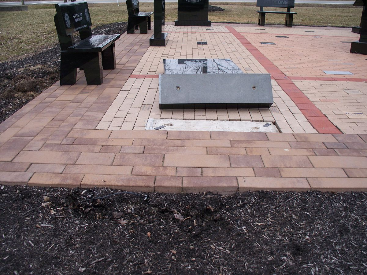 Sheriff's office looking for vandal who damaged Medina County military monument