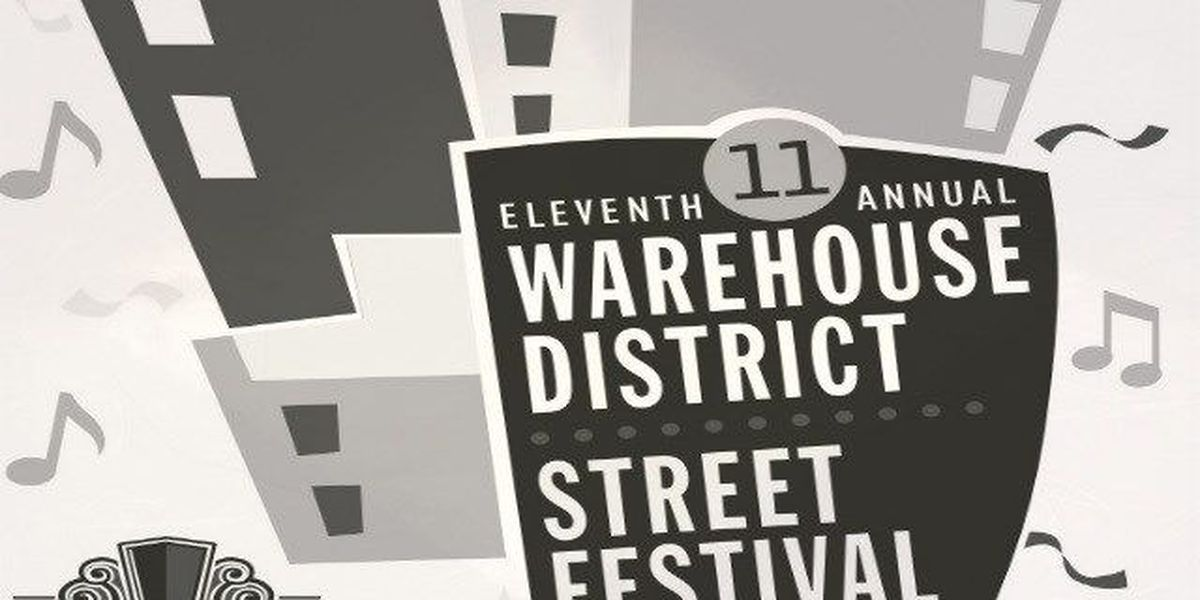11th annual Warehouse District Street Festival set for Sunday
