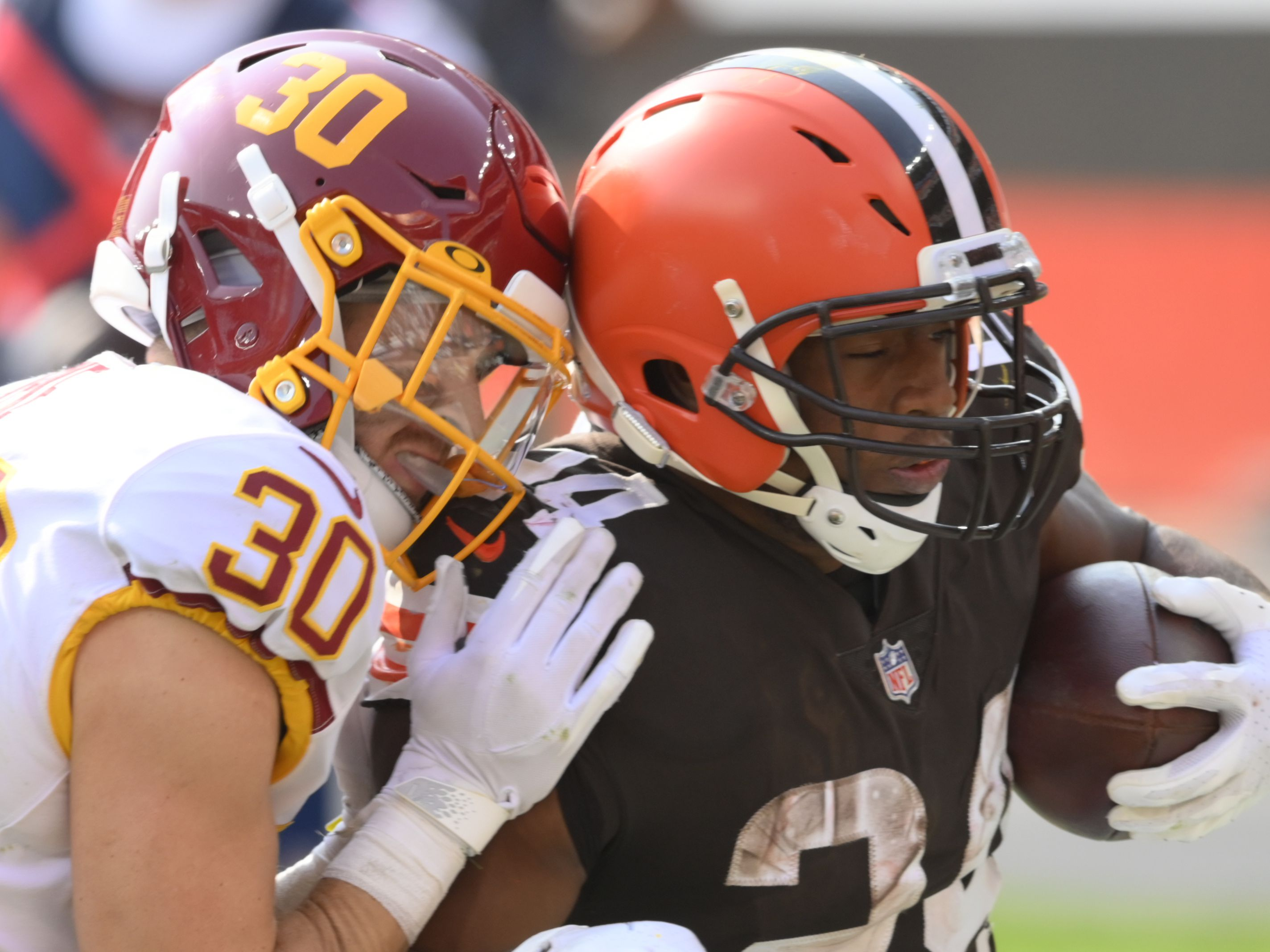 Final: Washington 20, Browns 34