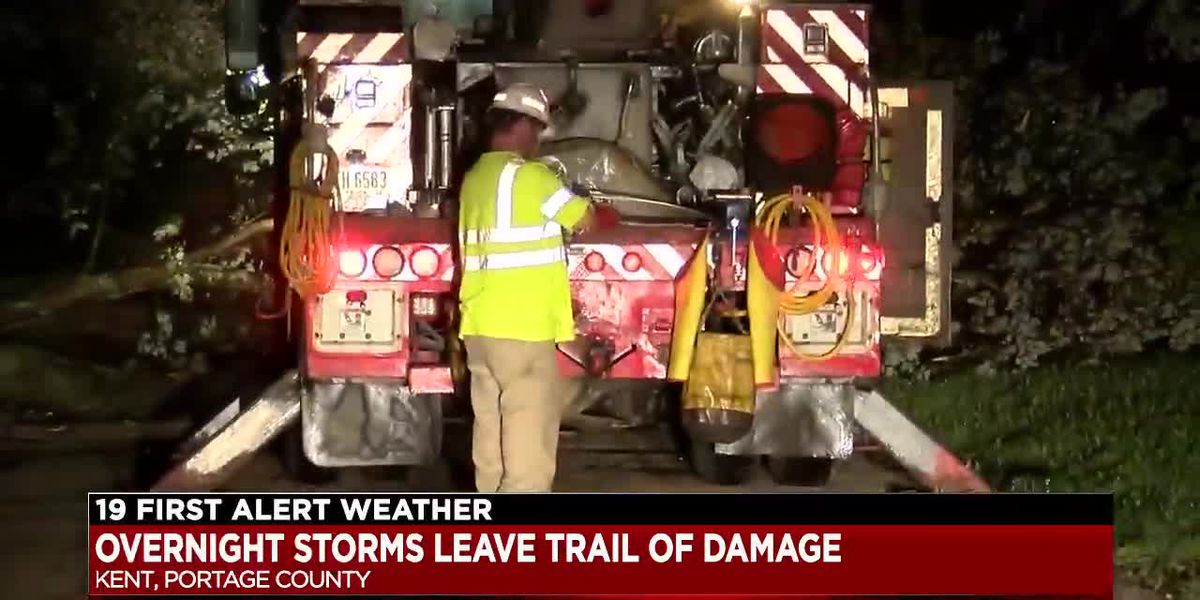 Thousands of residents without power due to overnight storms in Summit and Portage counties