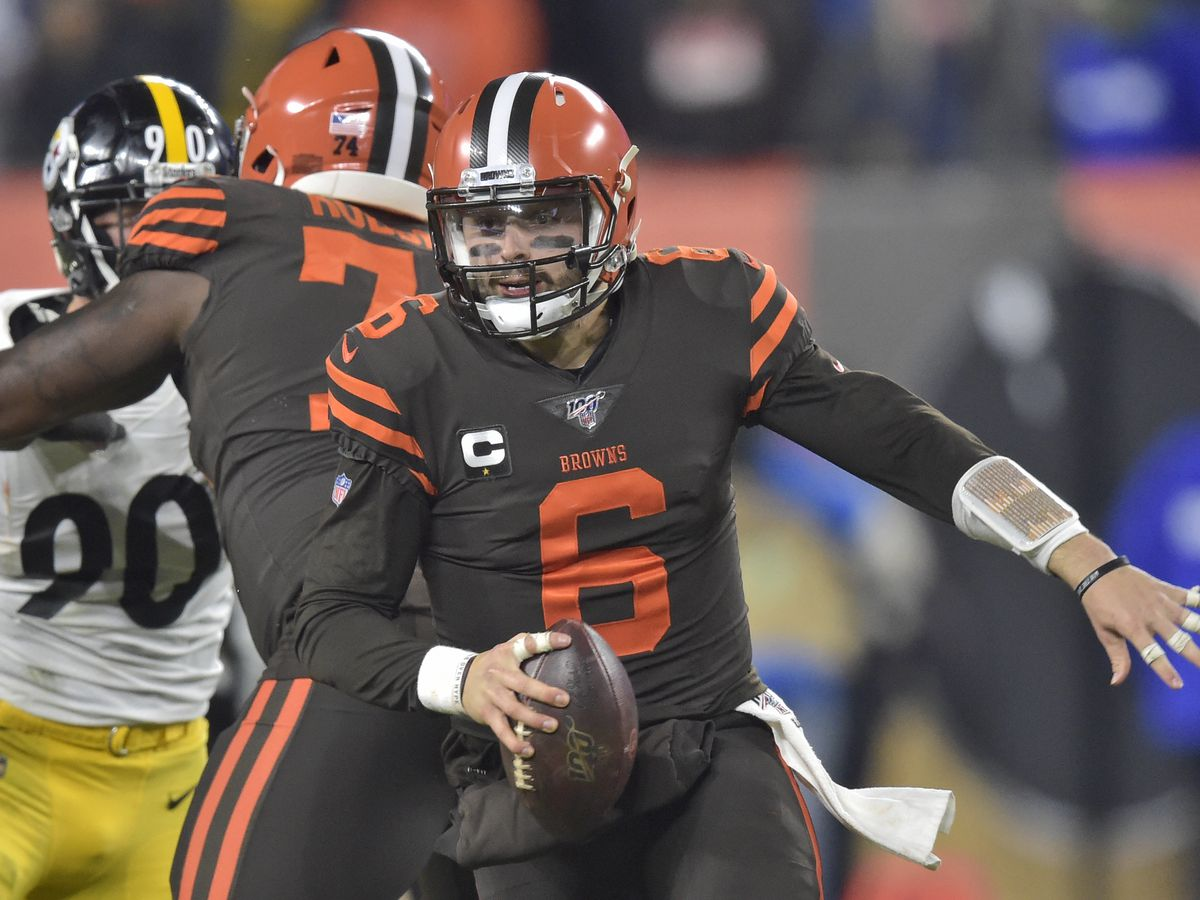 Kickoff time rescheduled for Dec. 1 rematch between Cleveland Browns, Pittsburgh Steelers