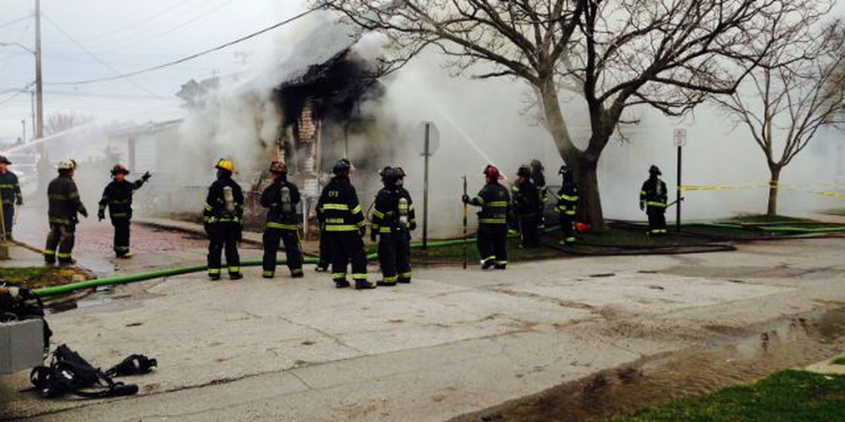 Home catches fire on Easter Sunday
