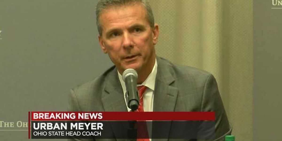 Ohio State: Urban Meyer suspended 3 games without pay to begin 2018 season