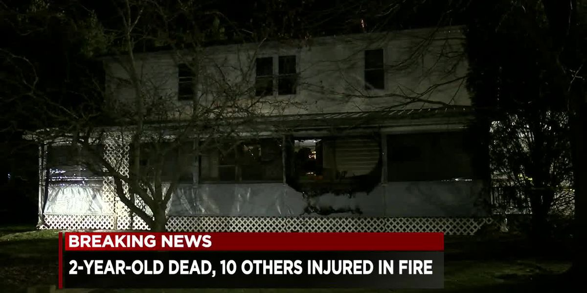 2-year-old dead, 10 injured in aftermath of tragic Geauga County blaze