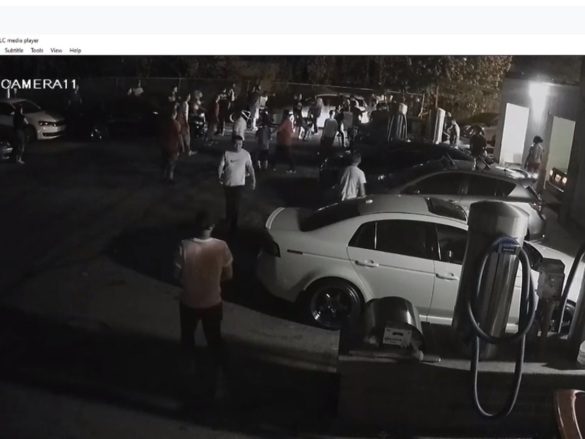 Videos show chaotic crime scene at Cleveland car wash where teen boy was shot multiple times