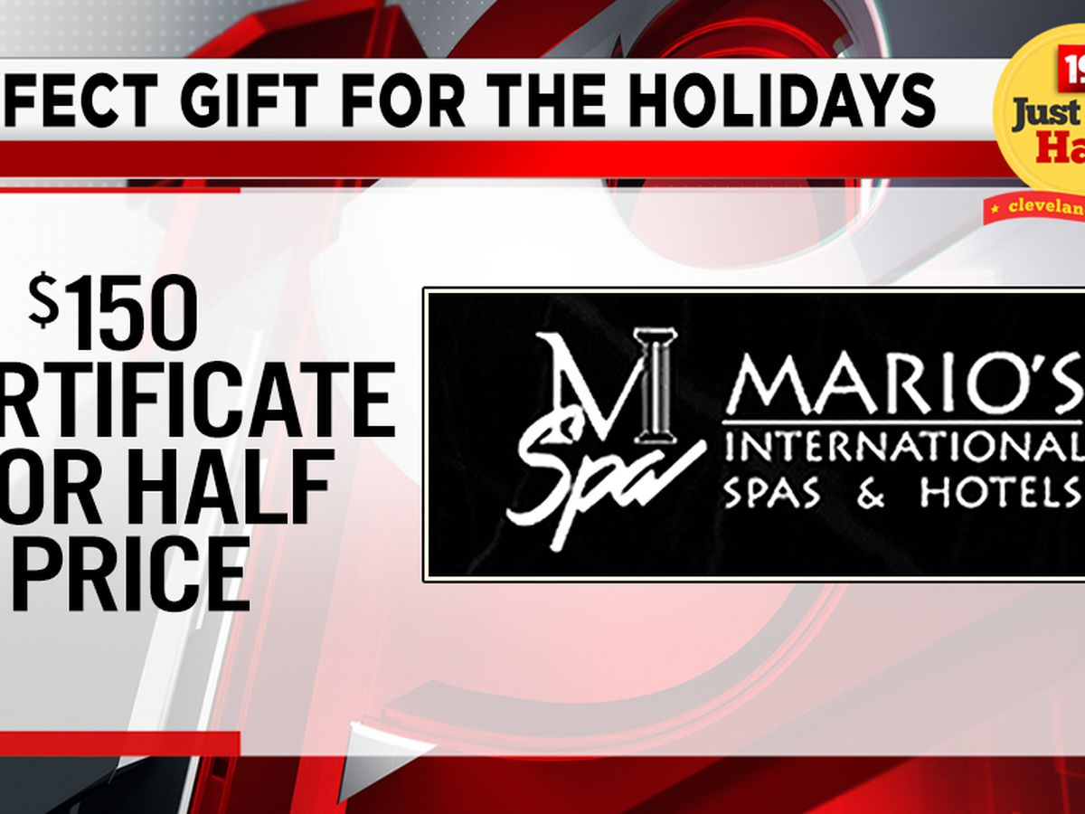 Noon News Giveaway, Wed 11/27 ~ Win a Mario's International Hotel and Spa Gift Certificate